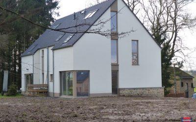 Projet de quatre maisons rue Grand Vivier (Ohey)
